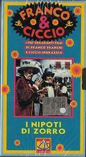 FRANCO E CICCIO - I NIPOTI DI ZORRO (1968) VHS