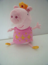 PEPPA PIG AND CROWN SOFT TOY -  DANCES & PLAYS TUNE FIGURE