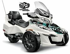 """Can Am Spyder RT RTS graphic wrap decal package """"Perennial"""" - HALF KIT"""