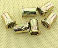 Ecrou à sertir Insert acier zingué M5 (5X7X13) Lot de 10 en 5mm