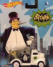 Hot Wheels 2015 Pop Culture DC Batman Classic TV Series PENGUIN '49 FORD COE nip