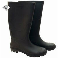 MENS WOMANS UNISEX WELLINGTONS RAIN SNOW BOOTS WELLIES RUBBER SHOES SIZE 4-12 UK