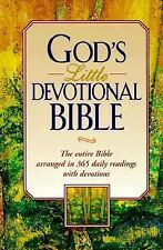 GOD'S LITTLE DEVOTIONAL BIBLE ~ Entire Bible Arranged in 365 Daily Readings~