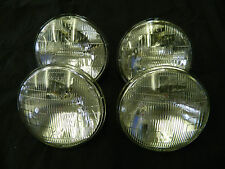 Correct Plymouth Roadrunner Sealed Beam HI Low Headlight Bulb Set New #4000 5001