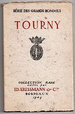 VINS DE BORDEAUX KRESSMANN TOURNY COLLECTION RARE 1953 Tirage Limité HISTOIRE