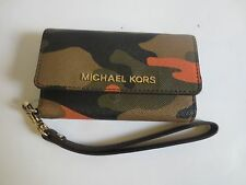 Michael Kors Electronics Duffle Saffiano Phone Wristlet iPhone 5s/5 Case