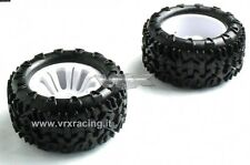 COPPIA RUOTE MONSTER TRUCK ESAGONO INTERNO 12mm 1/10 OFF ROAD 2PCS 10138 VRX