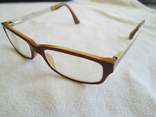 Marc by Marc Jacobs brown / gold glasses frames.
