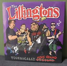 "The Lillingtons ""Technically More Round"" 2 LP /300 OOP Nofx Teenage Bottlerocket"