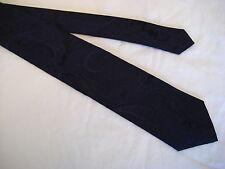 Gruppo Artigiani Italy 100% Silk Paisley Neck Tie from Syd Jerome - Navy Blue