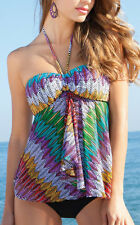 NWT GOTTEX PROFILE Mexicana FLY AWAY Mesh 2 PIECE Tankini Bathing SUIT sz - 16