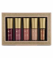 BOOTS No7 WINTER NUDES 5 X 4 ML NAIL POLISH COLLECTION MOTHER DAY GIFT SET