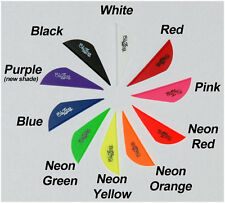 Blazer Arrow Vanes Mix/Match 10 Colors w/Logo Pkg of 100 Fletching