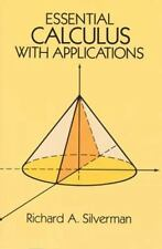 Essential Calculus with Applications (Dover Books on Advanced Mathematics)
