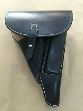 "GERMAN WWII P-38 P38 SOFTSHELL HOLSTER: BLACK (Repro) ""MARKED"""