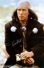 WES STUDI SIGNED GERONIMO PHOTO POSTER APACHE NATIVE AMERICAN AUTOGRAPH w/ COA