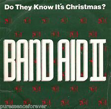 "BAND AID II - Do They Know It's Christmas? (UK 2 Trk 1989 7"" Single PS)"