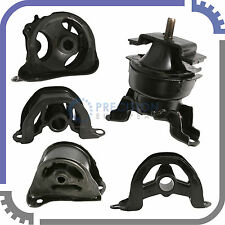 5pc Set | 96-00 Honda Civic 1.6L - Engine Motor Transmission Mounts (AT & MT)