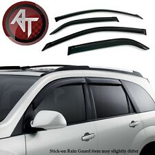 Smoke Window Vent Visors Rain Guards VentShade for 03-07 Cadillac CTS - 4 Pcs