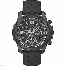 Timex TW4B01400, Men's Expedition Leather Watch, Chronograph, Shock, TW4B014009J