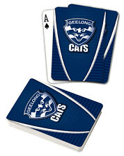 AFL Geelong Cats Aussie Rules Deck Playing Cards Poker Cards Xmas Gift