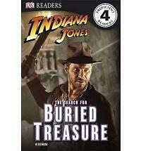 Indiana Jones The Search for Buried Treasure (DK Readers Level 4), Rathbone, W.,