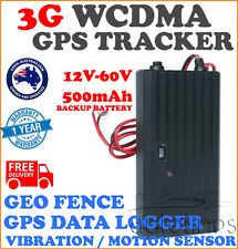 3G WCDMA 12V-60V Battery GPS Tracker Data Logger Vibration Motion Sensor Alert