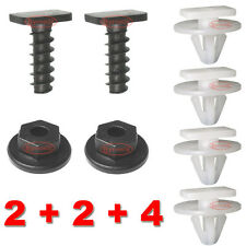 VAUXHALL CORSA C FRONT WHEEL ARCH TRIM CLIPS PLASTIC & METAL SCREWS NUT WING