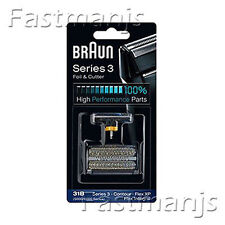 Genuine NEW BRAUN 31B 5000 6000 Series Shaver Replacement Foil + Cutter Set