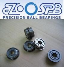 1 EZO Premium Kugellager mit Flansch / Bundlager F608 ZZ = FL608 2Z  8x22x7 mm