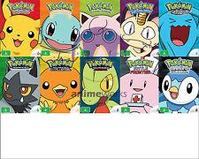 Pokemon Season 1,2,3,4,5,6,7,8,9 & 10 Slim Pack Bundle - Bonus Pokemon Plush Toy