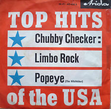 "7"" 1962 ORIGINAL ! CHUBBY CHECKER : Limbo Rock /VG+?"