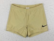 Nike Racing Elite Pro Sponsored Kit Tan Short Running Tights USA Women's Small S