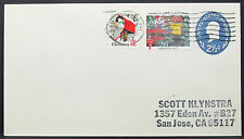 US stationery cover American Lung Association Christmas Scott lettera GS (i-8616