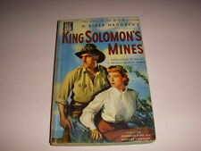 KING SOLOMON'S MINES by H. RIDER HAGGARD, DELL BOOK #433, 1950, MAPBACK, PB!