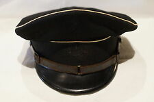 WW2 German Elite Troops Black 1st Pattern Peak Cap Other Ranks ORIGINAL