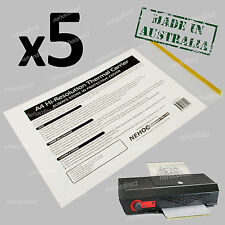 Tattoo Paper Carrier x5 - Low Cost, Ultra High Resolution, Long Lasting, Budget