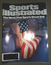 Sports Illustrated issue The Week That Sports Stood Still cover ~  9/24/2001