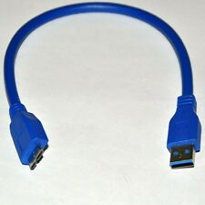 1ft USB 3.0 Type A Male to Micro B Male High Speed Cable Cord 30cm