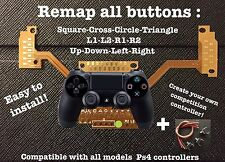 """Kit Remap board Ps4"" Make Your own Compétition Controller! Easy Install!All ps4"