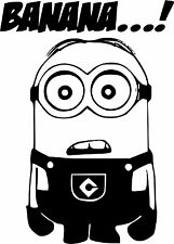 MINION funny VW JDM Car stickers decal vinyl window car laptop, bikes scooter 22