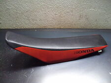 2006 06 HONDA CR450R CR 450R R MOTORCYCLE RED BLACK SEAT FOAM COVER FRAME
