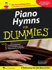 Piano Hymns for Dummies Sheet Music Piano Vocal Guitar SongBook NEW 000311870