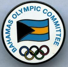 BAHAMAS National Olympic Committee Pin Badge - Undated but used in London 2012