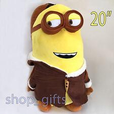 "Despicable Me 3 Plush Minion Kevin Soft Toy Stuffed Animal Doll Teddy 20""/51 BIG"
