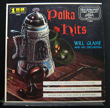 Will Glahe And His Orchestra - Polka Hits LP VG+ B 20016 Mono 1st Vinyl Record