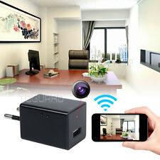 TOGUARD Wifi HD 1080P WIFI Spy Camera USB Wall Charger Mini DV DVR Video Recorde