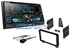 NEW KENWOOD CAR STEREO & SIRIUS XM RADIO W USB/AUX  & DASH KIT & SMARTPHONE INTG