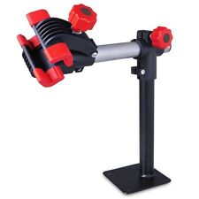 Bench Mount Bike Repair Stand w/Clamps Countertop Bicycle Rack Kit Tool