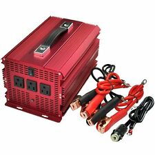 BESTEK 2000/4600 Watt Power Inverter DC 12V to 110V AC Adapter Charger supply